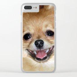 My joyful smile Clear iPhone Case
