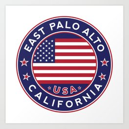 East Palo Alto, California Art Print