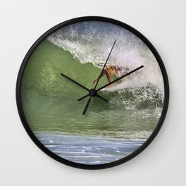 In The Tube at Ponce Inlet Wall Clock