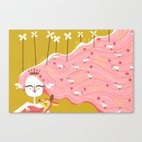 How Beautiful You Are (by Andrew Kolb) Canvas Print