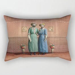 The Sloth Sisters at Home Rectangular Pillow