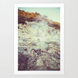 Solfatara Volcano Art Print