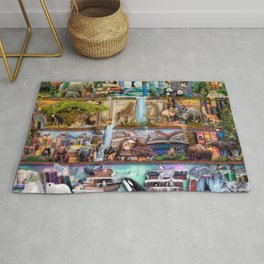 The Amazing Animal Kingdom Rug