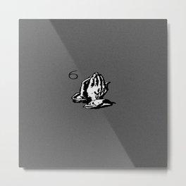 Drake Praying Hands 6 Metal Print
