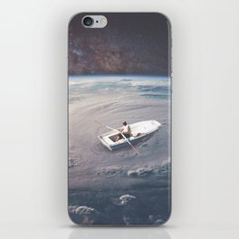 Rowing the Cosmos iPhone Skin
