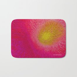 """Social Network"" Digital Art Bath Mat"