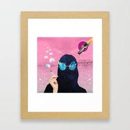 Hig Planet Framed Art Print