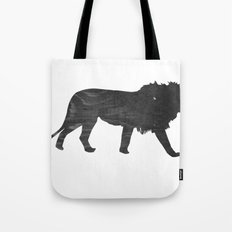 Lion (The Living Things Series) Tote Bag