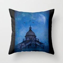 Camera Obscura - Eastbourne Pier Throw Pillow