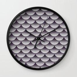 Pattern design background seamless Wall Clock