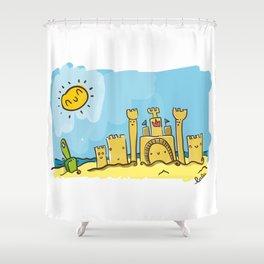 playita Shower Curtain