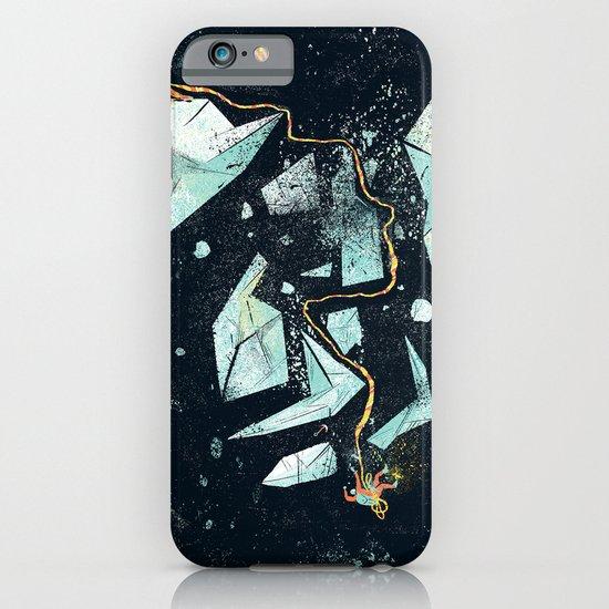 Climbing the Crevasse iPhone & iPod Case