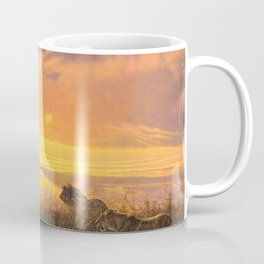 Sunset by Alan M Hunt Coffee Mug