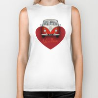 van Biker Tanks featuring Van Love by RubyRed