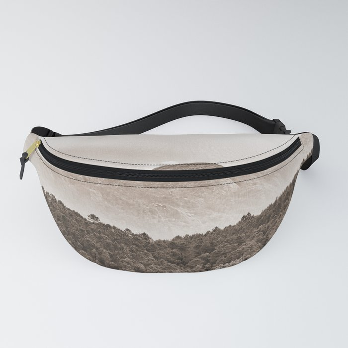 The mountain beyond the forest Fanny Pack