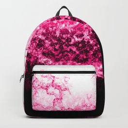 Pink Water Splash Backpack