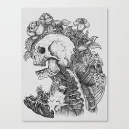 Everything with Skulls - 06 Canvas Print