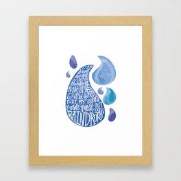 Saltwater Heart. [Switchfoot] Framed Art Print