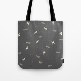 Pisces Pattern Tote Bag