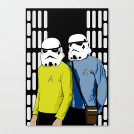 Away team incognito Canvas Print