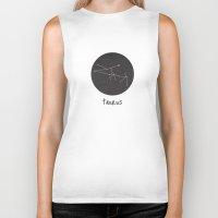 taurus Biker Tanks featuring Taurus by snaticky