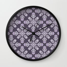 NORTHERN FLOWERS Wall Clock