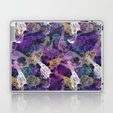 Floral Gun Laptop & iPad Skin