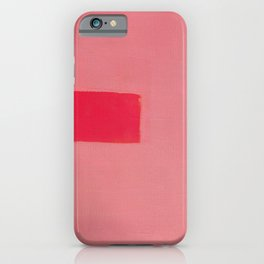Pink Influence 3 iPhone Case