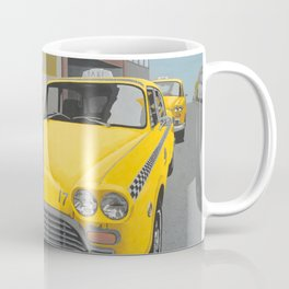 Taxi Stand (doubled) Coffee Mug