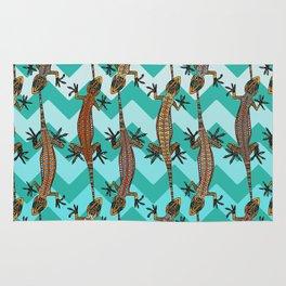 gecko chevron Rug