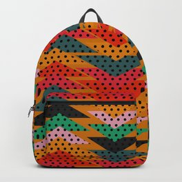 Spotty triangles Backpack