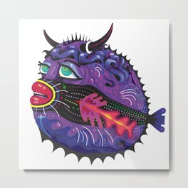 Blowfish Metal Print