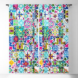 Moroccan Mosaic I Blackout Curtain
