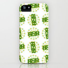 """HERB' (original invertible ambigram) iPhone Case"