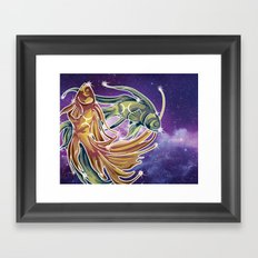 Pisces Framed Art Print