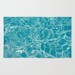 Blue Summer Water Rug