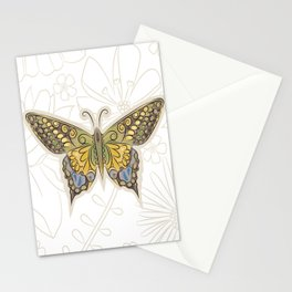 Antique Butterfly Stationery Cards