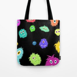 All My Monster Friends Pattern Tote Bag