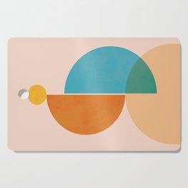 Abstraction_SUN_Rising_Minimalism_001 Cutting Board