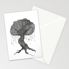 Girl In Tree Stationery Cards