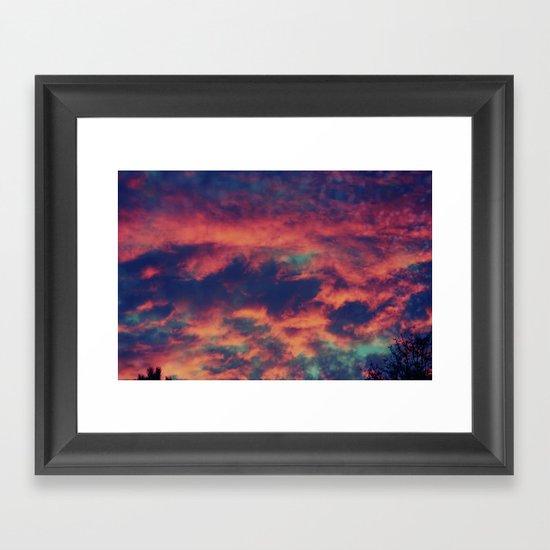 Playful Daydream Framed Art Print
