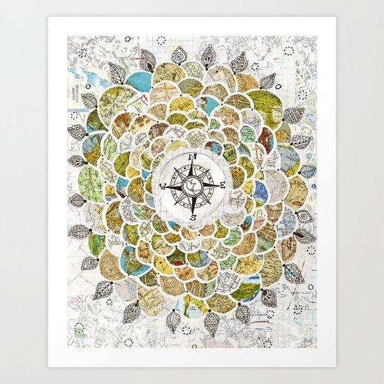 Wanderbloom Art Print