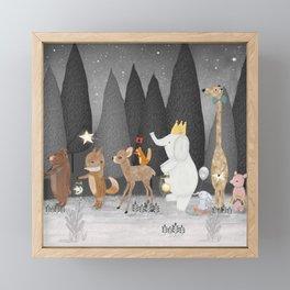 little stars Framed Mini Art Print