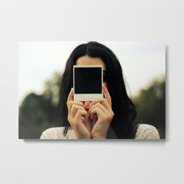 Polaroid Metal Print