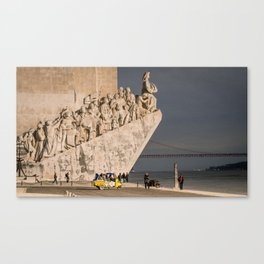 Monument des découvertes 2014 Canvas Print