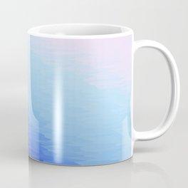 Blue Texture Ombre Coffee Mug