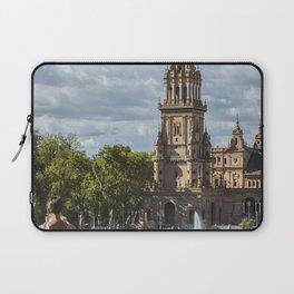 Chilling at Plaza de Espada, Seville Laptop Sleeve