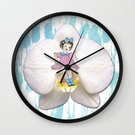 LITTLE FLOWER Wall Clock