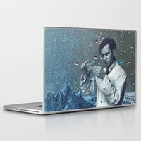 fullmetal alchemist Laptop & iPad Skins featuring THE ALCHEMIST by Julia Lillard Art