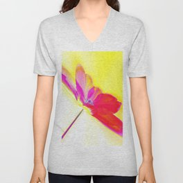 Spring Abstract Unisex V-Neck
